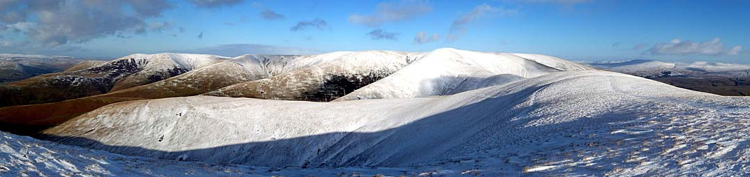 Arant Haw in Snow (Howgills)