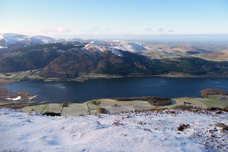 Bassenthwaite Lake from Longside Edge