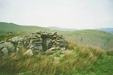 Shelter on Beda Fell