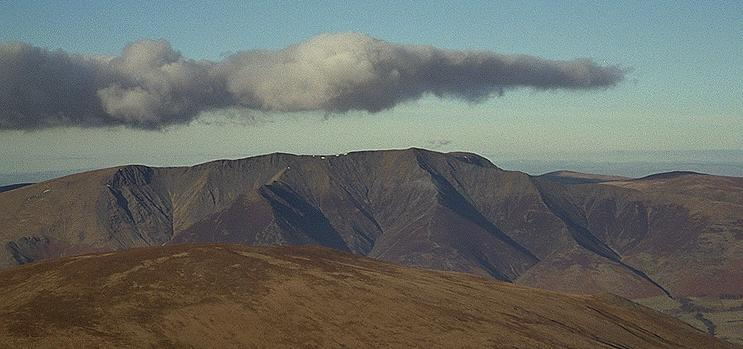 Blencathra from Great Dodd