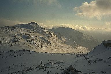 Bowfell from Esk Pike