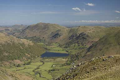 Brothers Water from Middle Dodd