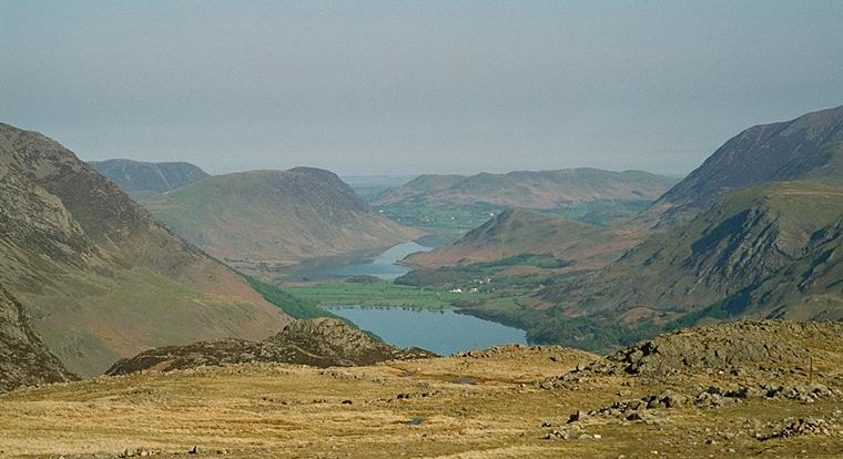 Buttermere from the Slopes of Brandreth