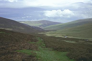Carrock Fell from the Upper Reaches of the River Caldew