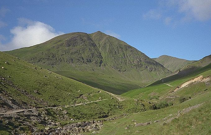 Catstye Cam from Glenridding Beck
