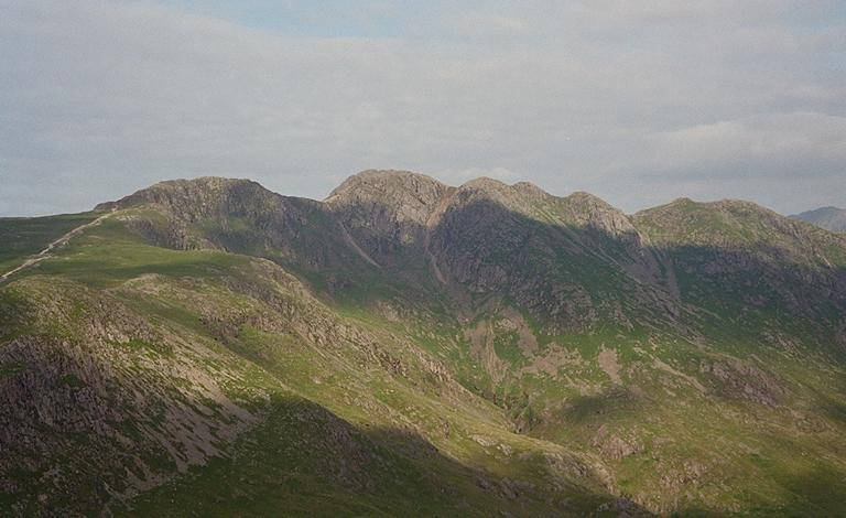 Crinkle Crags from Pike o'Blisco