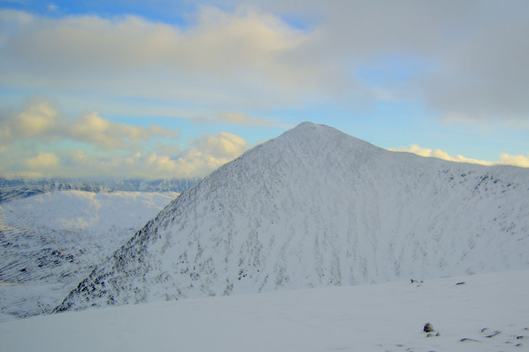 Catstye Cam from White Side in Snow