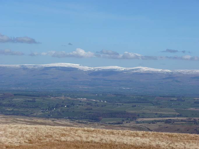 Cross Fell from Selside Pike