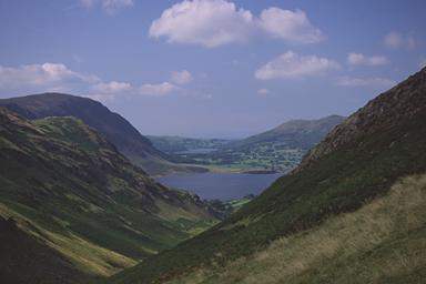 Crummock Water from Whiteless Breast