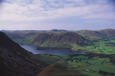 Crummock Water from Whiteside