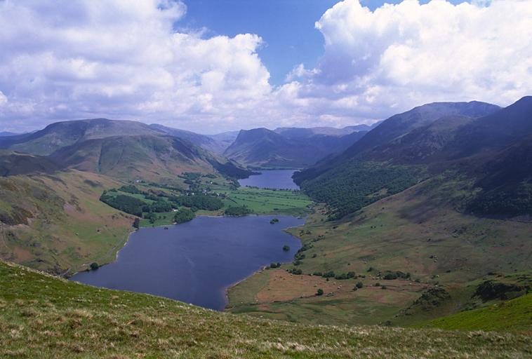 Crummock Water from Mellbreak South Top