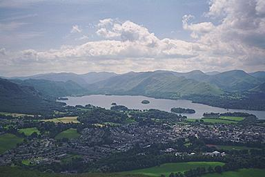 Derwentwater from Latrigg