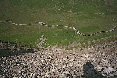 The Dore Head Screes