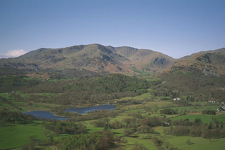 Elterwater from Loughrigg