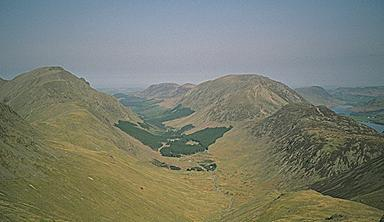 Ennerdale from the Slopes of Brandreth
