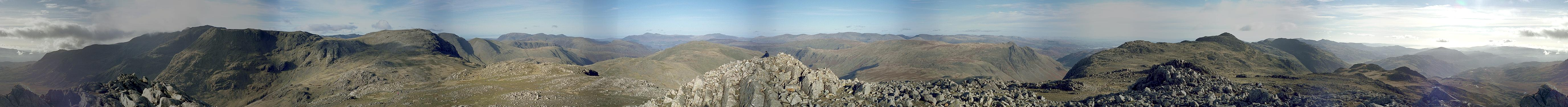 Esk Pike - Complete Panorama