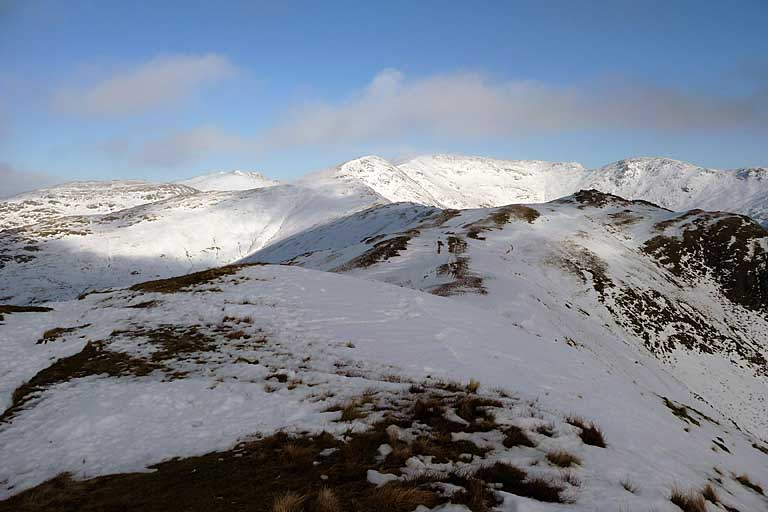 Fairfield from Heron Pike in Snow II