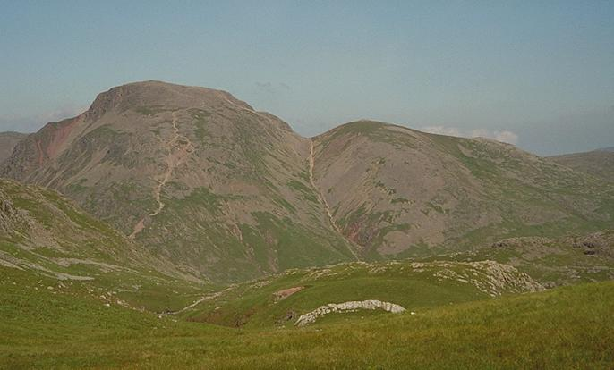 Great Gable from Esk Hause