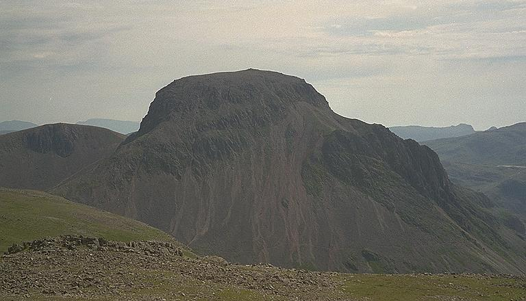 Great Gable from Kirk Fell