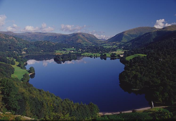 Grasmere from Loughrigg Descent