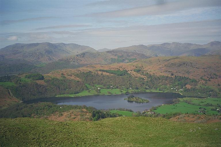 Grasmere from Nab Scar