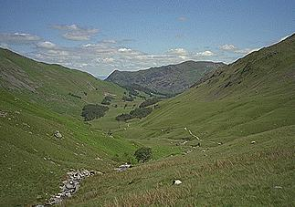 Grisedale and Place Fell