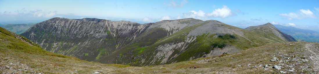 Grasmoor's Northern Panorama