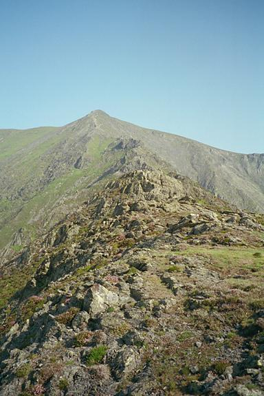 Hall's Fell Arete - The Approach