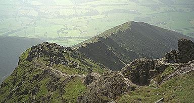 Hall's Fell Arete - Looking Back