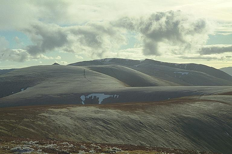 Helvellyn Ridge from Great Dodd
