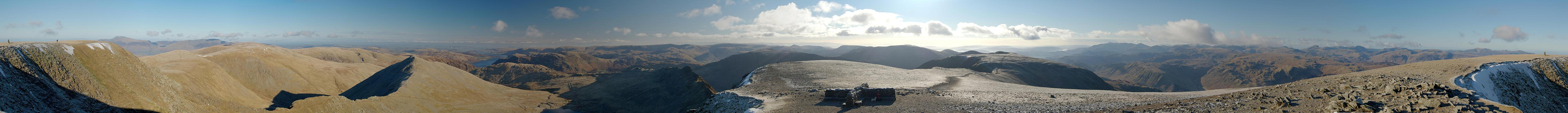 Helvellyn - Complete Panorama