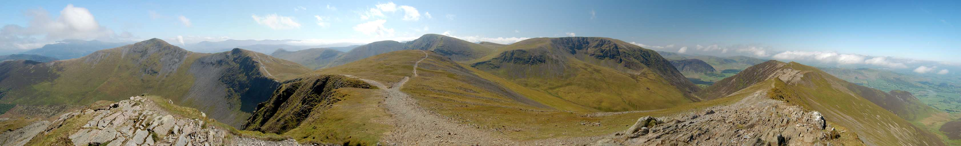 Hopegill Head Panorama