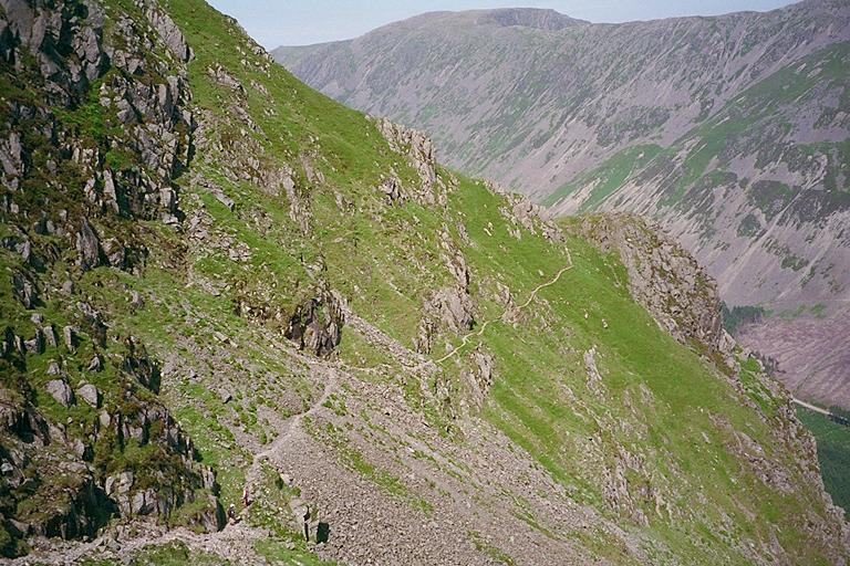 High Level Route - towards Robinson's Cairn