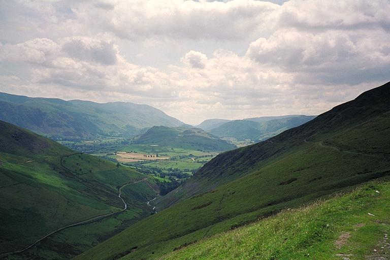 The Glenderaterra Valley