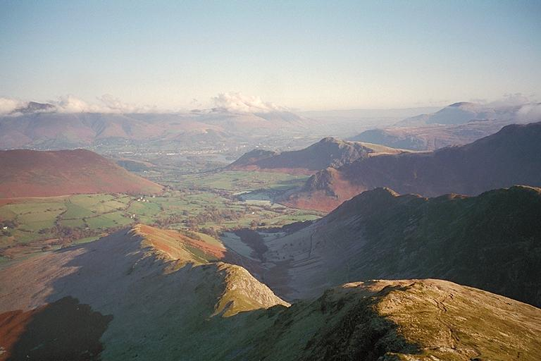 High Snab Bank and Newlands from Robinson II