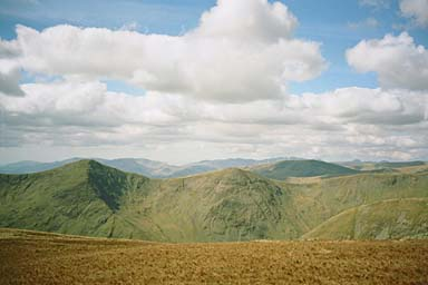 Ill Bell and Froswick from Harter Fell