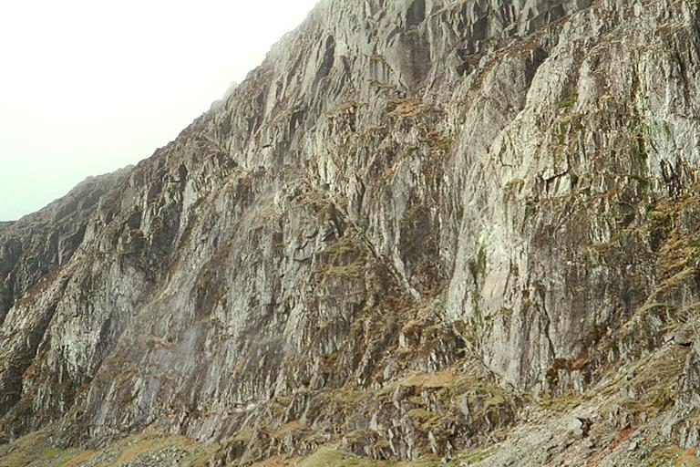 Pavey Ark - Jack's Rake from Below