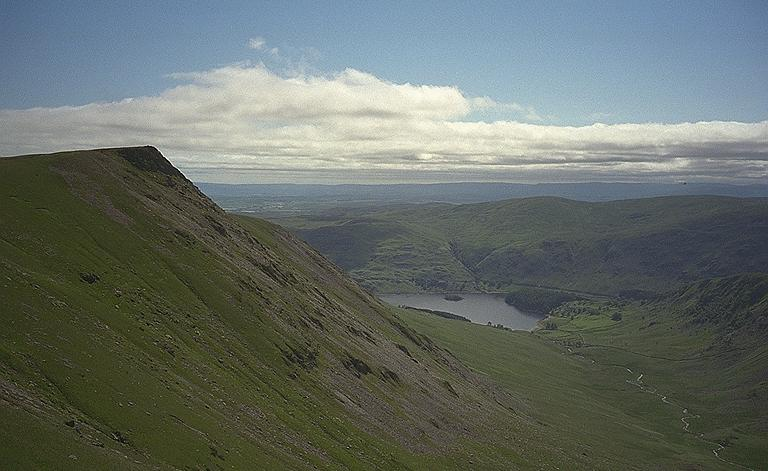 Kidsty Pike, Riggindale, and Hawes Water