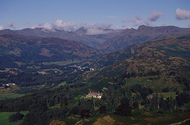 Langdale from Loughrigg