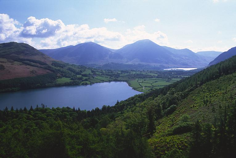 Loweswater from Burnbank Fell