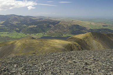 Longside Edge from Skiddaw