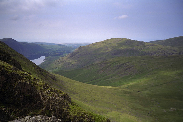 Middle Fell from Stirrup Crag