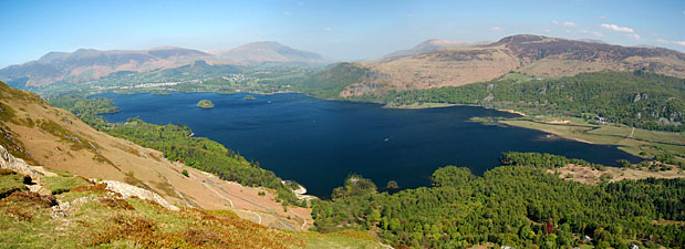 Derwentwater from Black Crag
