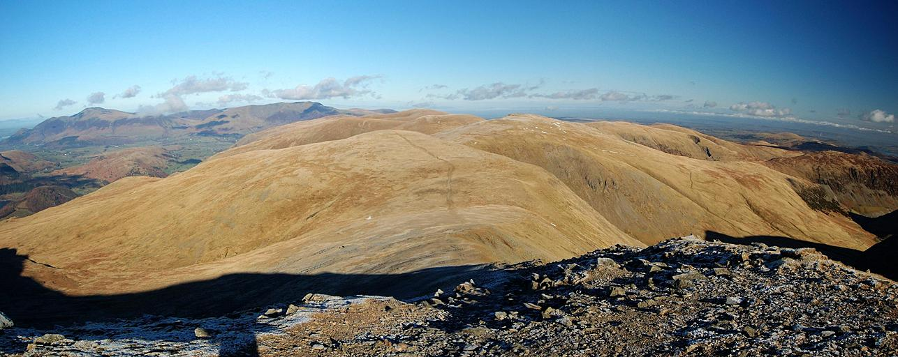 Helvellyn Lower Man - Northern Panorama