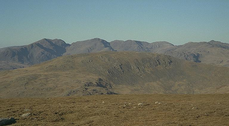 The Scafells from Brim Fell