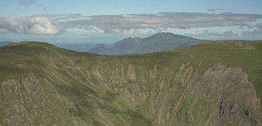 The View Northwest from Catstye Cam