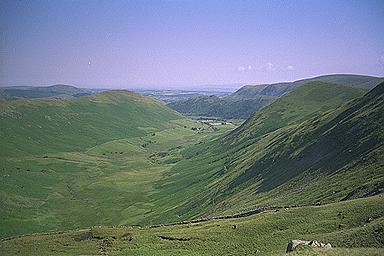 Bannerdale from the Slopes of Rest Dodd