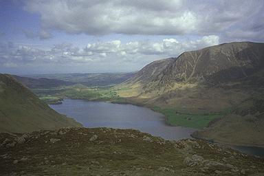 Crummock Water from Lingcomb Edge