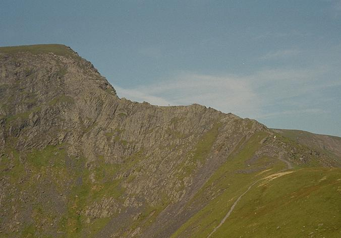 Foule Crag and Sharp Edge