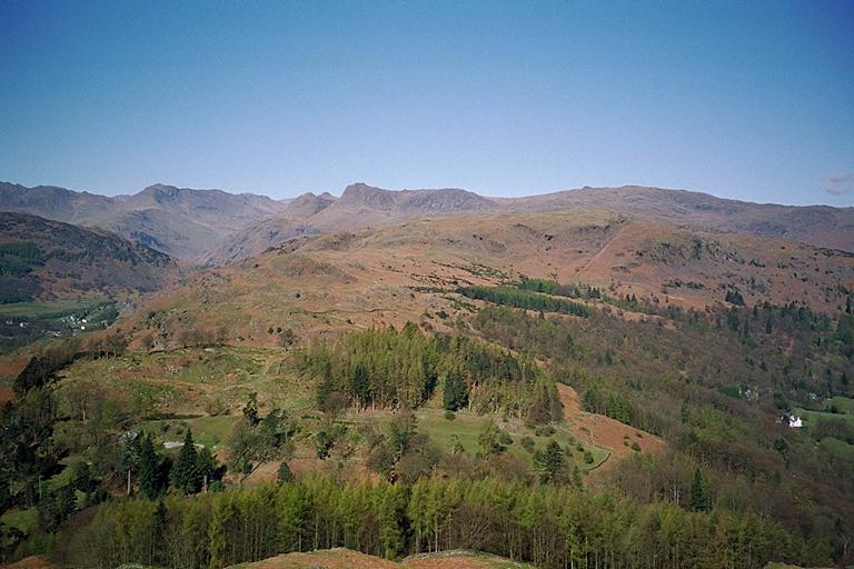 Silver How from Loughrigg